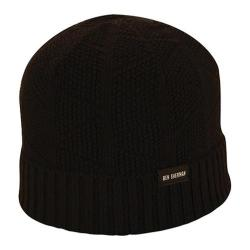 Men's Ben Sherman Textured Beanie Black