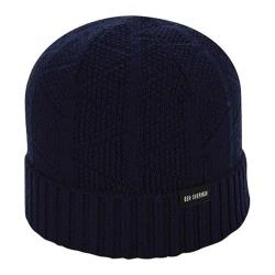 Men's Ben Sherman Textured Beanie Staples Navy