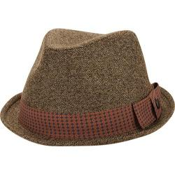 Men's Ben Sherman Textured Fedora Brown