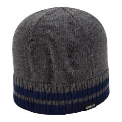 Men's Ben Sherman Tipping Striped Knit Beanie Smoked Pearl Heather