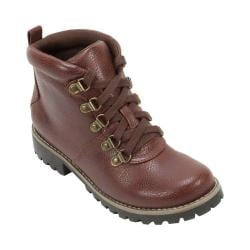 Women's Cliffs by White Mountain Port Hiker Boot Chestnut Smooth