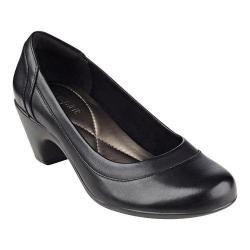 Women's Easy Spirit Carmela Pump Black Multi Leather