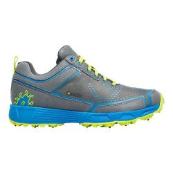 Women's Icebug DTS2-L BUGrip Running Shoe Charcoal/Azure