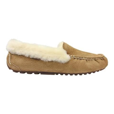 Women's Lamo Aussie Moccasin Slipper Chestnut