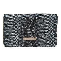 Women's Lodis Vanessa Snake Mini Card Case Black