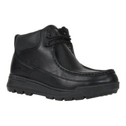 Men's Lugz Breech Wallaby Work Boot Black Perma Hide