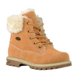 Children's Lugz Empire HI Fur Work Boot Youth Golden Wheat/Cream/Gum Thermabuck