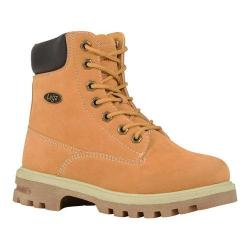 Boys' Lugz Empire HI WR Work Boot Golden Wheat/Bark/Cream/Gum Thermabuck