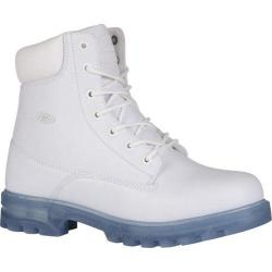 Men's Lugz Empire HI XC Work Boot White/Ice Perma Hide