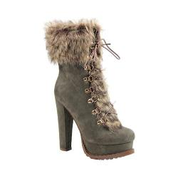 Women's Luichiny Stand By Bootie Army Imi Suede/Fur