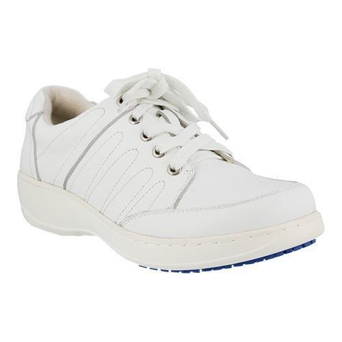 Women's Spring Step Veri Lace Up White Leather
