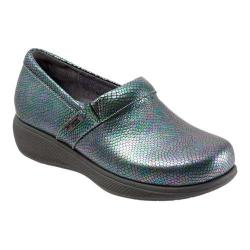 Women's SoftWalk Meredith Clog Iridescent Leather