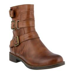 Women's Spring Step Diony Bootie Brown Leather