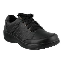 Women's Spring Step Veri Lace Up Black Leather