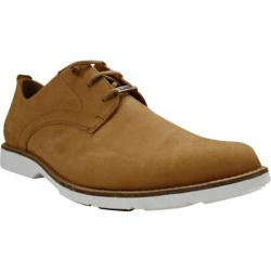 Men's Burnetie Casual Low Oxford Brown Leather