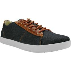 Men's Burnetie Damm Vintage Oxford Sneaker Grey Textile/Leather