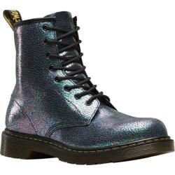 Children's Dr. Martens Delaney 8 Eye Side Zip Boot Grey TP Split