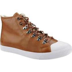 Men's Burnetie High Top Sneaker 01616 Brown Leather