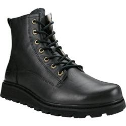 Men's Burnetie Hiking Mid Boot Black Leather
