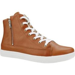 Men's Burnetie Nelson High Top Sneaker Brown Leather