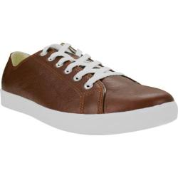 Men's Burnetie Ox Leather Sneaker 38516 Brown Leather