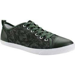 Men's Burnetie Ox Vintage Sneaker 02516 Olive Textile/Leather