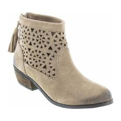 Women's Minnetonka Cut Out Boot Taupe Suede