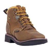 Women's Dan Post Boots Mesa Logger Boots DP59442 Tan Leather