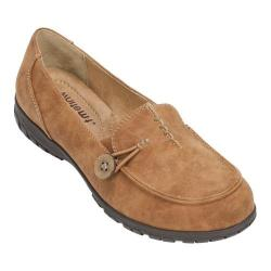Women's White Mountain Judo Slip-On Loafer Cognac Sueded Smooth