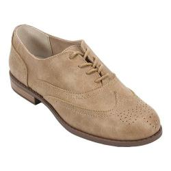 Women's White Mountain Stern Oxford Tan Fabric