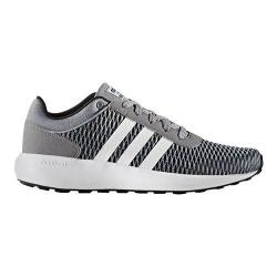Men's adidas NEO Cloudfoam Race Sneaker Classic Black/White/Grey