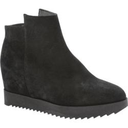 Women's Kenneth Cole New York Moira Wedge Bootie Black Suede