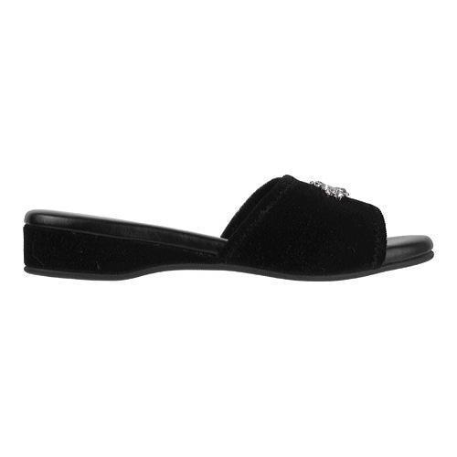 Shop Women S Daniel Green Marta Slide Slipper Black Velvet