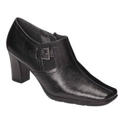 Women's A2 by Aerosoles Harmonize Bootie Black Faux Leather
