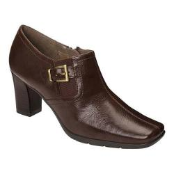 Women's A2 by Aerosoles Harmonize Bootie Brown Faux Leather