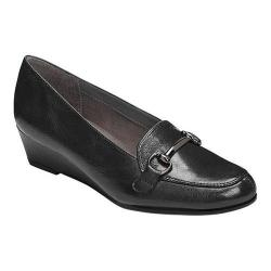 Women's A2 by Aerosoles Love Spell Loafer Black Faux Leather