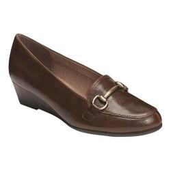 Women's A2 by Aerosoles Love Spell Loafer Brown Faux Leather
