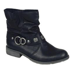 Women's Rieker-Antistress Peggy 98 Ankle Boot Black Synthetic