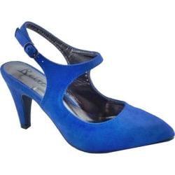 Women's Bellini Nica Slingback Heel Blue Microsuede