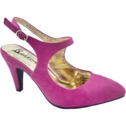 Women's Bellini Nica Slingback Heel Fuchsia Microsuede