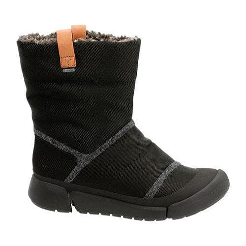 e8ed0b21 Women's Clarks Tri Aspen GORE-TEX Waterproof Boot Black Textile |  Overstock.com Shopping - The Best Deals on Boots