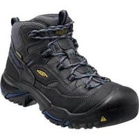 Men's Keen Utility Braddock Waterproof Mid Soft Toe Boot Raven/Estate Blue