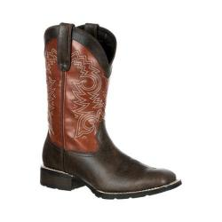 Men's Durango Boot DDB0084 12in Mustang Boot Brown/Rust Leather/Faux Leather