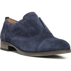 Women's Franco Sarto Blanchette Laceless Oxford Navy Velour Suede