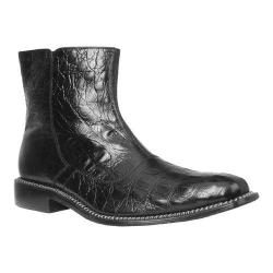 Men's Giorgio Brutini Canto Ankle Boot Black Hornback