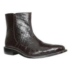 Men's Giorgio Brutini Canto Ankle Boot Brown Hornback