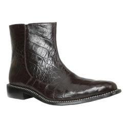 Men's Giorgio Brutini Canto Ankle Boot Brown Hornback