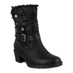 Women's Spring Step Boisa Ankle Boot Black Synthetic