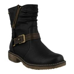 Women's Spring Step Feijo Ankle Boot Black Synthetic