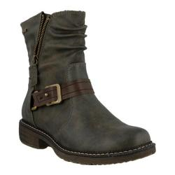 Women's Spring Step Feijo Ankle Boot Gray Synthetic